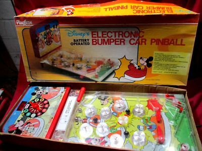 Micky Maus Flipper DISNEY ELECTRONIC BUMPER PINBALL PLAYTIME mit OVP