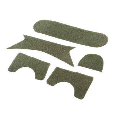 Tactical Helmet Replacement Exterior Padding Sticker Hook and Loop Fastener