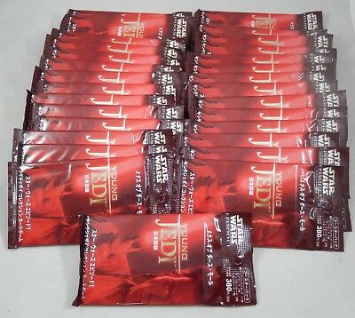 Star Wars Young Jedi CCG Menace of Darth Maul JAPANESE 29 Booster Pack Lot Japan
