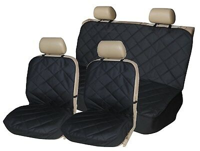 QUILTED HEAVY DUTY Rear Back Car Seat Covers for BMW F10 F11 5