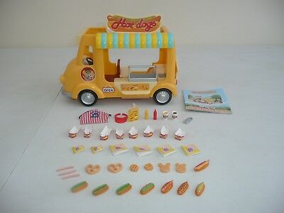 sylvanian families Hot dog van Boxed and complete