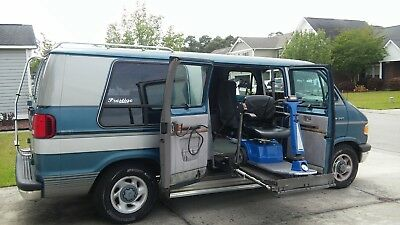 1994 Dodge Ram Van  Dodge handicapped Maxi van