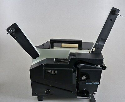 Elmo Cl-16 Optical 16Mm Slot Load Film Projector Tested Free Shipping