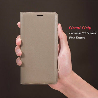 Universal Luxury Flip Leather Wallet Card Slot Case Cover Stand For OnePlus 3/3T