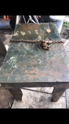 Large Cast Iron Surface Table