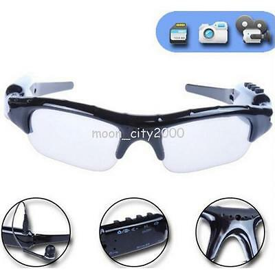Polarized Sunglass   Camera TF Card Sport Camcorder Glasses Headset Eyeglass