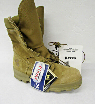 USMC 7.5 Military Boots Bates Vibram Goretex Wolverine Warrior Leather E85502A