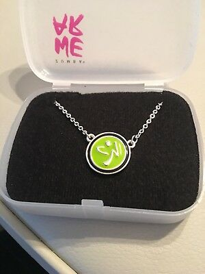 ZUMBA One Nation Charm Necklace New