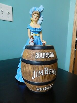 Blue Saloon Girl, Jim Beam Barware