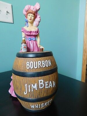 Pink Saloon Girl, Jim Beam Barware