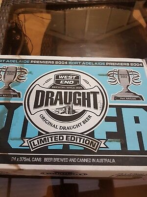 port power 2004 west end draught cans 24 unopened