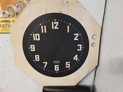 Vintage Neon Clock Face Say It In Neon Buffalo NY 30 inch
