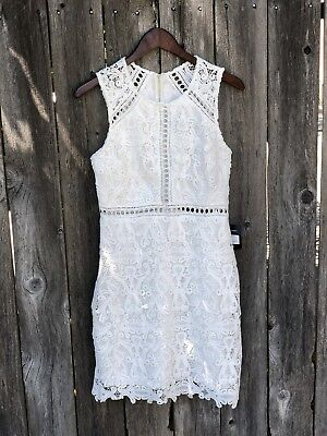 Lulus Going Out Ivory Halter Wedding Bridal Maxi Dress S M Gown Formal Rehearsel
