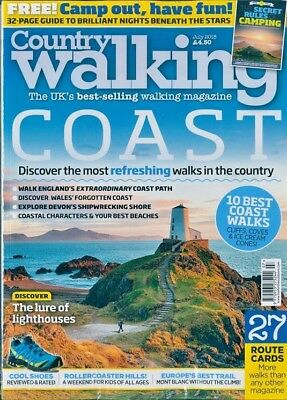 Country Walking Magazine July 2018 ~ New ~