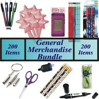 Wholesale Liquidation Sale Lot of 2000 Assorted Dollar Store General Merchandise