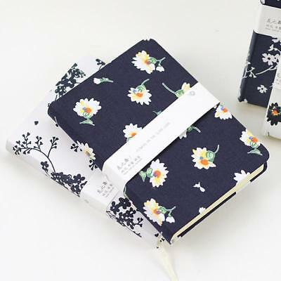 Diary Floral Flower Notebook Schedule School Office Supplies Stationery Notepad