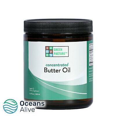 X Factor™ Gold Butter Oil (Unflavoured) - Green Pasture - 240ml- Vitamin K2, CLA