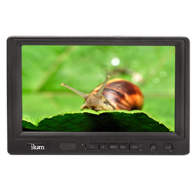 "Ikan 7"" On Camera Tft Lcd Monitor ""new In Box"" ""authorized Dealer"""