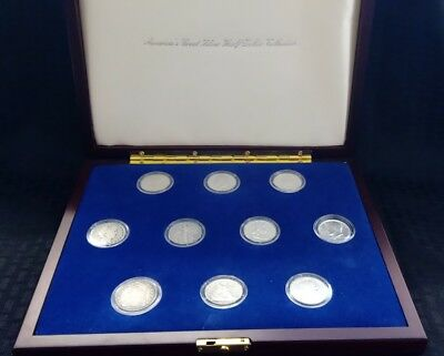 America's Great Silver Half Dollar Collection, 10 Coin Set