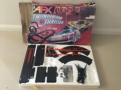 Aurora Afx Slot Car Track Set Tomy Thunderloop