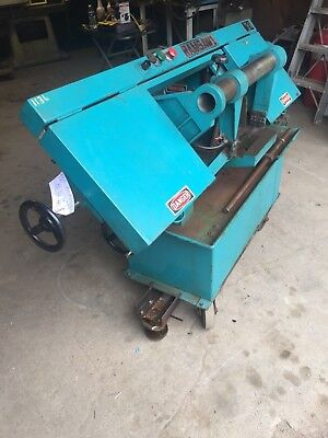 Ramco Ramsaw1 Horizontal  Band saw with front petal.