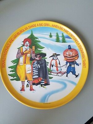 McDonalds plate from 1977 Winter Fun