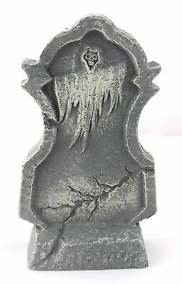 new halloween tombstone decoration resin spooky ghost prop 65 inches tall