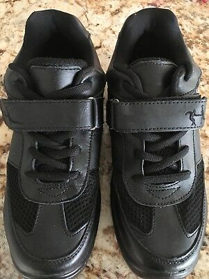 """very Fine"" Dancesport Salsa Ballroom Rhythm Black Sneakers Size 8.5 New"