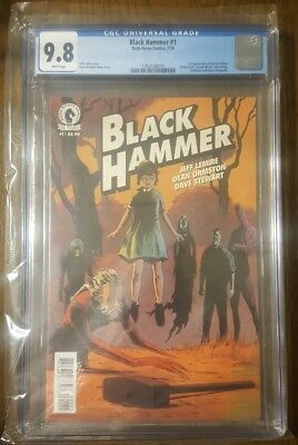 Black Hammer #1 (July 2016, Dark Horse) CGC 9.8 First Print NM