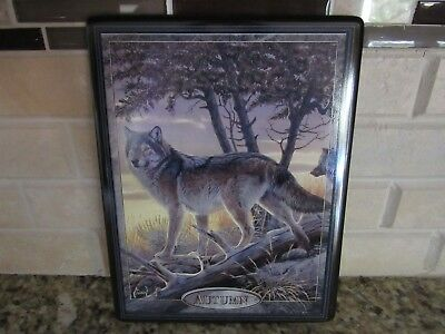 """Seasons of the Wolf - """"Autumn"""" - 4th Ed. of the Collection - Plate# 7476A"""