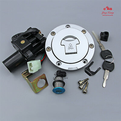 New Ignition Switch Lock Fuel Gas Cap Key Set Fit For Honda CBR1000RR 2004-2007