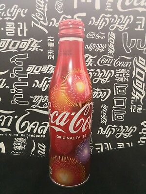 japan Coca Cola special edition fireworks Aluminum Bottle 2018 wummer empty