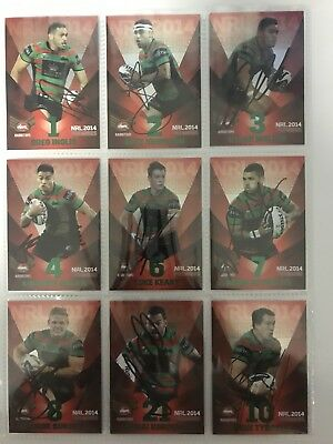 2014 Limited Edition Signed RED Souths Premiers 24 of 25