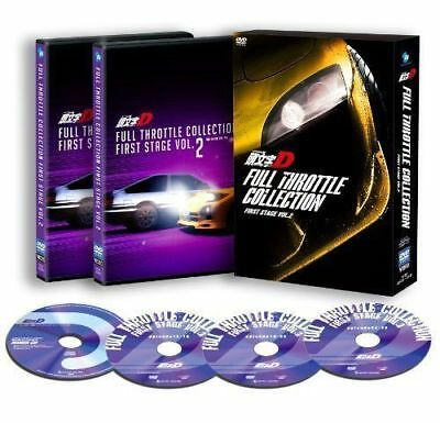 Initial D Full Throttle Collection - First Stage Vol.2-Japan 3Dvd+Cd Aa50