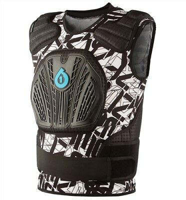 SixSixOne 661 Core Saver Chest and Back Protector Motocross Bike S/M Body Armor