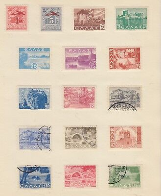 GREECE Collection..  Early Lot Inc OVPTS MINT/USED removed for sending..