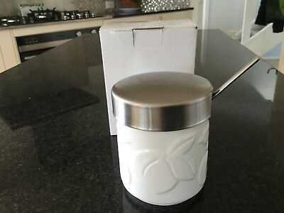 Villeroy & Boch Jampot Apricot With Spoon New