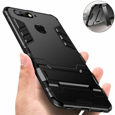 Rugged Armor Hybrid Bumper Case Shockproof Cover Skin for iPhone X 8 7 6 6S Plus