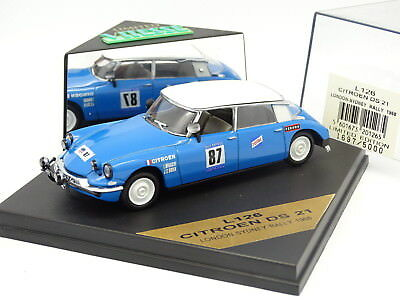 BIANCHI J.C OGIER COCHE METAL ESCALA 1//43 CITROEN DS 21 LONDON-SYDNEY 1968 L