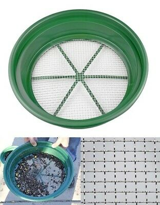 "13-1/4"" Sifting Pan Mining Equipment Patio Lawn Garden Tool Home Improvement NEW"
