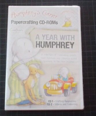 Crafters Companion - A Year With Humphrey Collection -  2 CD-ROMs NEU/OVP