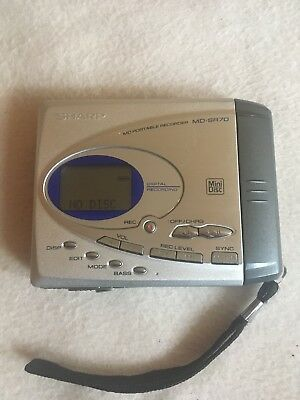 sharp minidisc recorder