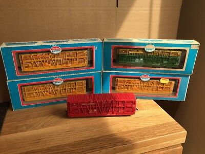 5 x Model Power Stock 50' 9102 Union Pacific & 9101 Chicago & NW & Great Norther