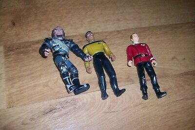 3 Star Trek Figuren