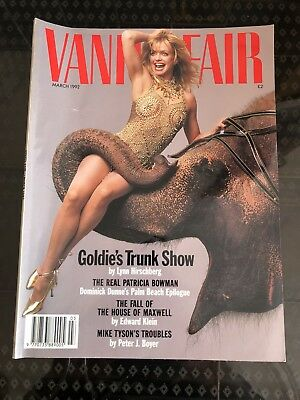 Vanity Fair Magazine March 1992 Featuring Mick Jagger