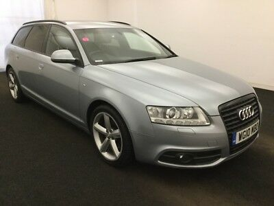 10 Audi A6 Avant 2.0 Tdie 136Bhp S-Line **nav, Leather, Climate, Privacy Glass**
