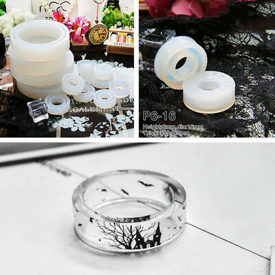 3Pcs Resin Ring Making Casting Silicone Mold Mould DIY Jewelry Rings Craft Tool