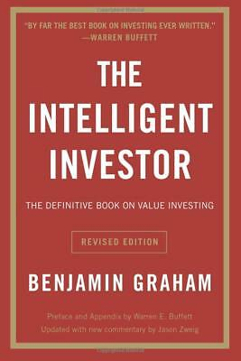 The Intelligent Investor The Definitive Book Value by Benjamin Graham  Paperback