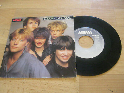 "7"" Single Nena Leuchtturm Vinyl CBS A 3186"