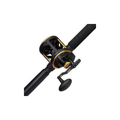 Penn SQUALL Lever Drag Left Hand SQL60LDLH Overhead Reel NEW Delivery+Warranty